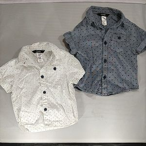 George 24m short sleeve button down shirts